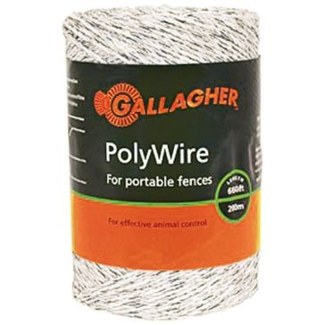 Gallagher 656ft Poly Wire G62004