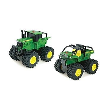 Tomy John Deere Monster Treads Wheelie Asst.