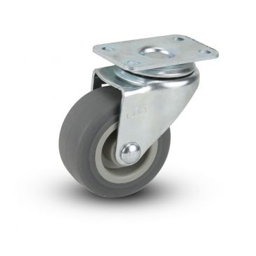 "2"" TPR Swivel Plate Caster"