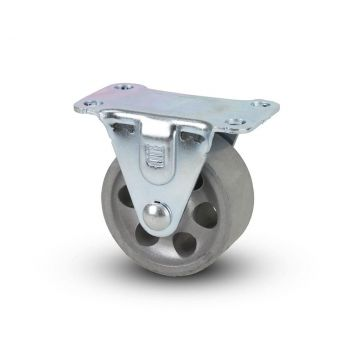 Sintered Iron Rigid Plate Caster 2""