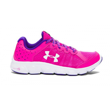 Under Armour Girls Assert 6 Pink Shoe