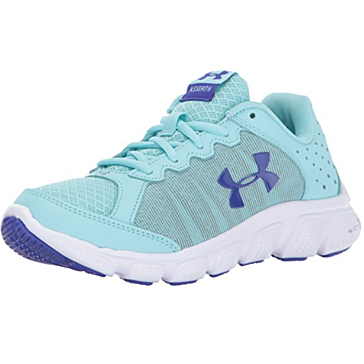 Under Armour Girls Assert 6 Blue Shoe