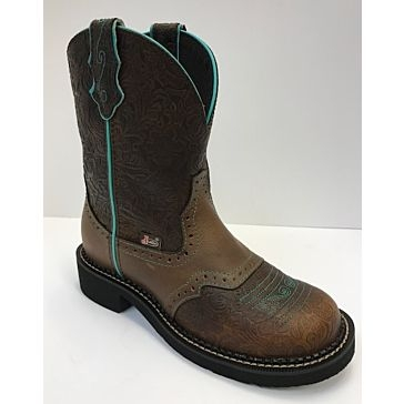 "Justin Womens 8"" Gypsy Round Toe Boots"