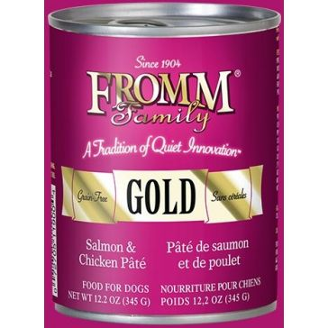 FROMM Gold Salmon & Chicken Pâté