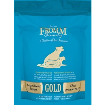 FROMM Gold Puppy Large Breed Dog Food - 33lb