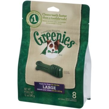 Greenies Original Dental Chews Dog Treats - Large
