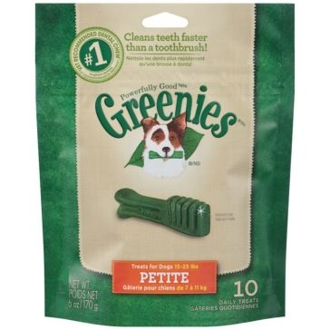Greenies Original Dental Chews Dog Treats - Petite