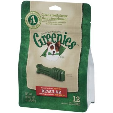 Greenies Original Dental Chews Dog Treats - Regular