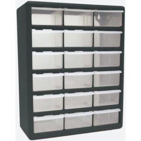 Homak 18-Drawer Parts Organizer HA01018001
