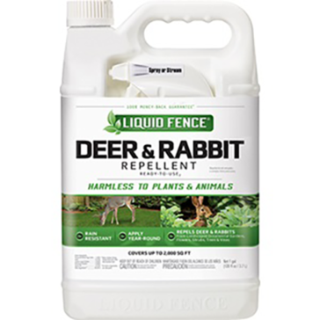 Liquid Fence Deer & Rabbit Repellent RTU 1Gal