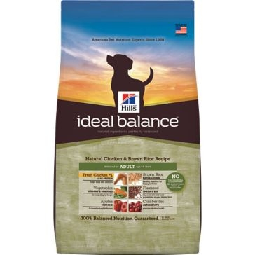 Hill's Ideal Balance Natural Chicken & Brown Rice Recipe Adult Dry Dog Food