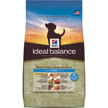Hill's Ideal Balance Natural Chicken & Brown Rice Recipe Dry Puppy Food