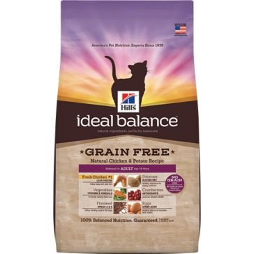 Hill's Ideal Balance Grain Free Natural Chicken & Potato Recipe Adult Dry Dog Food