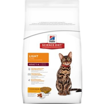 Hill's Science Diet Adult Light Dry Cat Food