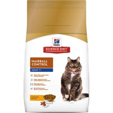 Hill's Science Diet Mature Adult Hairball Control Dry Cat Food