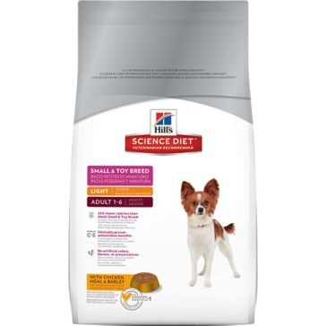 Hill's Science Diet Adult Small & Toy Breed Light Dry Dog Food