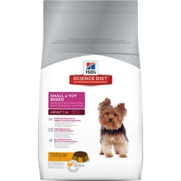 Hill's Science Diet Adult Small & Toy Breed Dry Dog Food