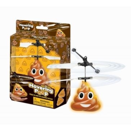 Hovering Flying Poo Emoji