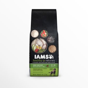 IAMS Healthy Naturals Adult Chicken + Barley Recipe Dry Dog Food