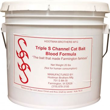 Triple S Channel Cat Bait Blood Formula