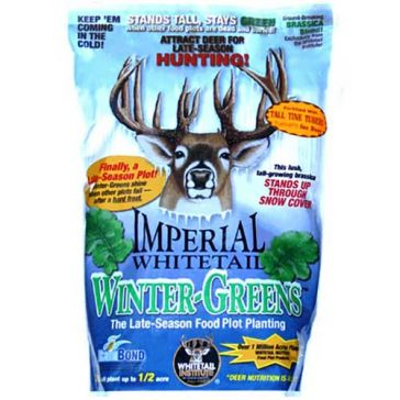Whitetail Institute Imperial Winter-Greens Food Plot