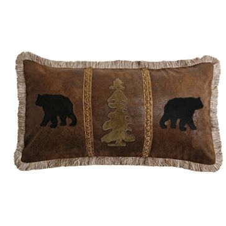 Carstens Bear/Tree/Bear Pillow