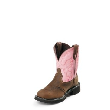 Justin Kids Bay Apache Gypsy Cowgirl Boots