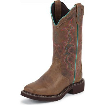 Justin Womens Tan Classic Gypsy Cowgirl Boots