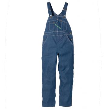 Key High-Back Bib Overall with Zip Fly