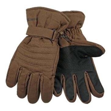 Kinco Brown Ski Gloves
