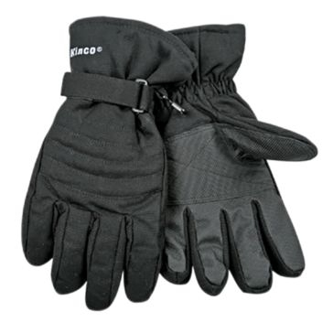 Kinco Black Ski Gloves