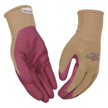 Kinco Pink Women's Latex Gripping Gloves