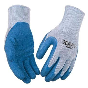 Kinco Blue Latex Palm Gripping Gloves