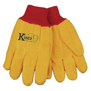 Kinco 14 oz. Yellow Chore Gloves