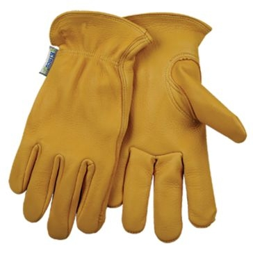 Kinco Women's Unlined Deerskin Leather Driver Gloves