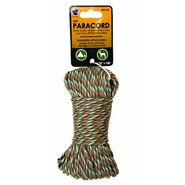 Koch Industries Camo 550 Paracord 5/32in x 100ft