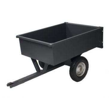 Precision Trailer Cart 10 Cubic Feet   LDT1003GY