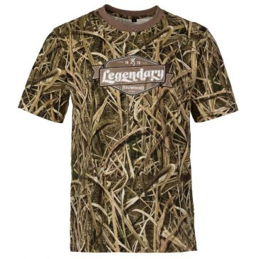 ba29fc5b2ecbe Browning Graphic T - Legendary/Mossy Oak Shadow Grass Blades