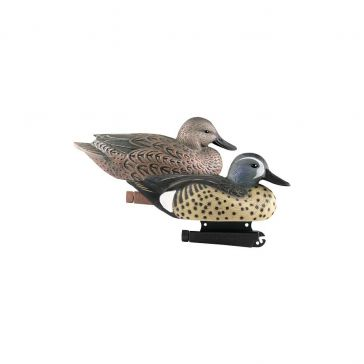 Avery Life-Size Blue-Winged Teal 6-Pack Duck Decoys