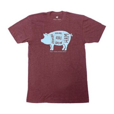 Locally Grown Pig Love Tee