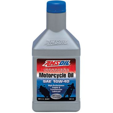 Amsoil 1qt 10W-40 Advanced Synthetic Motorcycle Oil MCFQT-CA