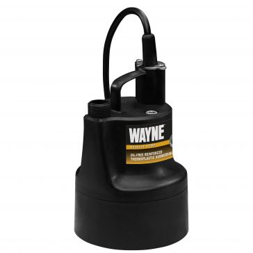 Wayne 1/10HP Portable Sump Pump GFU-110
