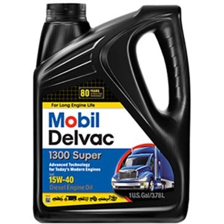 Mobil Delvac 15W-40 Diesel Engine Motor Oil