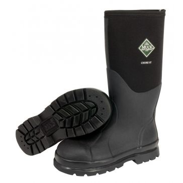 "Muck Chore 16"" Hi Steel Toe Rubber Boots"