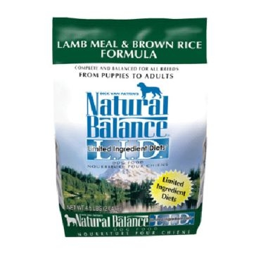 Natural Balance Limited Ingredient Diets Lamb Meal & Brown Rice Formula Dry Dog Food