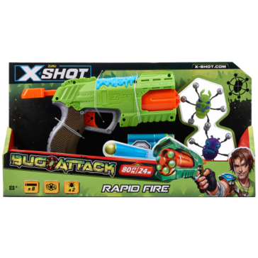 Zuru X-Shot  Bug Attack Rapid Fire Dart Blaster