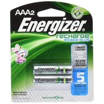Energizer AAA Rechargeable Batteries 2PK