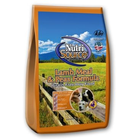 NutriSource Grain Free Lamb Meal Formula Dry Dog Food