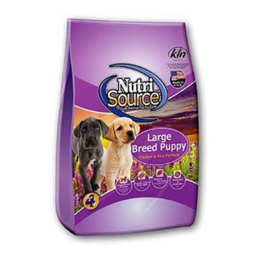 NutriSource Large Breed Puppy Chicken and Rice Formula Dry Dog Food