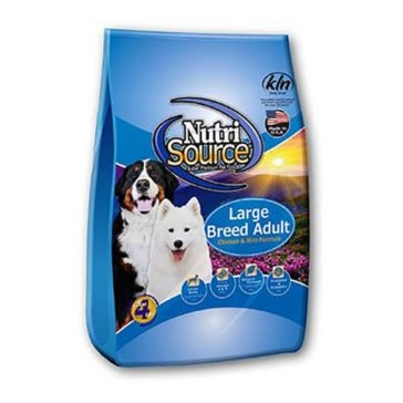 NutriSource Large Breed Adult Chicken and Rice Formula Dry Dog Food